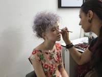 hair by lara slater for Java Magazine photo shoot