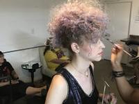 Hair by Lara Slater for Magazine editorial shoot